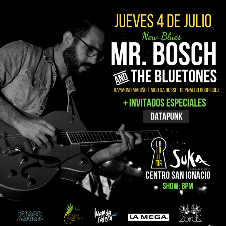 Mr. Bosch & The Bluetones lleva el New Blues a La Intima
