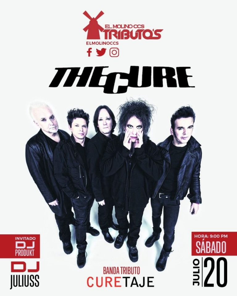 CURETAJE presenta su Tributo a The Cure en El Molino